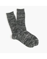 J.Crew | Gray Anonymous Ism Multicolored Socks for Men | Lyst
