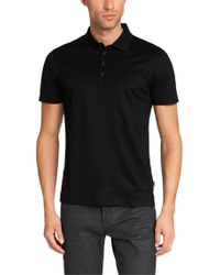 BOSS - Black 'genova'   Regular Fit, Cotton Polo Shirt for Men - Lyst