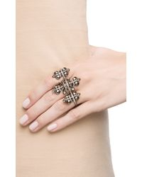 Nikos Koulis - Black Fontana Collection Ring - Lyst