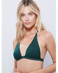 Free People - Green Siren Song Bra - Lyst