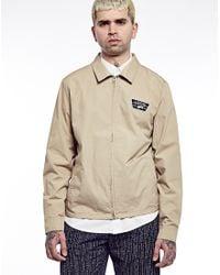 Vans - Natural Station Lightweight Twill Jacket for Men - Lyst