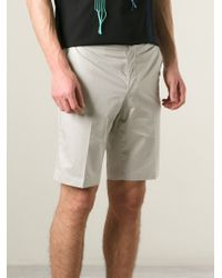 Lanvin | Natural Tailored Shorts for Men | Lyst
