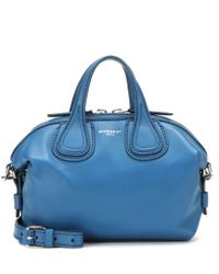 Givenchy | Blue Nightingale Micro Leather Shoulder Bag | Lyst