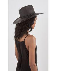 Ryan Roche Black Panama Hat