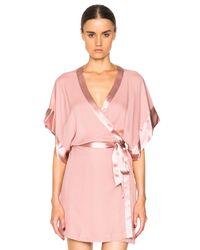 Fleur du Mal | Pink Georgette Kimono | Lyst