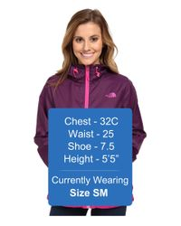 The North Face | Purple Flyweight Hoodie | Lyst
