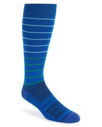 Challengerxusa | Blue Stripe Socks for Men | Lyst