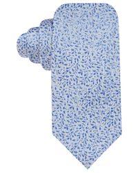Vince Camuto - Blue Sofia Floral Slim Tie - Lyst
