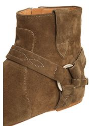 Isabel Marant | Brown Etoile 10mm Raelyn Suede Ankle Boots | Lyst