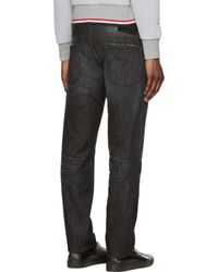 DSquared² - Black Faded And Distressed Slim Jeans for Men - Lyst