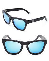 Westward Leaning - Black Mercury Seven Mirrored Wayfarer Sunglasses - Lyst