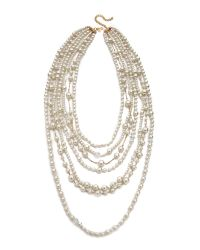 Kenneth Jay Lane | White Kenneth Jay Lane - Pearl | Lyst