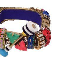 Erickson Beamon | Pink Aquarela Do Brasil Goldplated Swarovski Crystal Cuff | Lyst