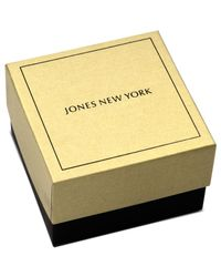Jones New York | Metallic Gold-tone Bird Of Paradise Crystal Pin Box | Lyst