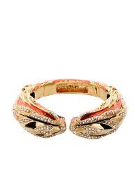 Roberto Cavalli | Orange Bracelet | Lyst