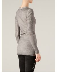 BLK OPM - Gray Impure Thoughts Top - Lyst