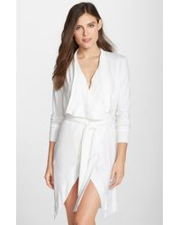 Joe's Jeans | Natural 'cara' Short Thermal Robe | Lyst