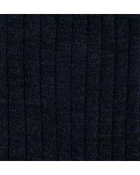 Sunspel | Black Men's Merino Cotton Socks for Men | Lyst