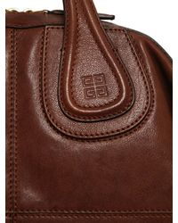 Givenchy - Brown Medium Nightingale Smooth Leather Bag for Men - Lyst