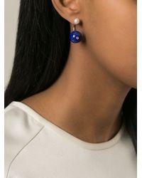Delfina Delettrez   White 'piercing' Earring   Lyst