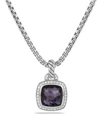 David Yurman | Purple Albion Pendant With Lavender Amyethst And Diamonds | Lyst