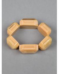 Marni - Natural Resin Bead Bracelet - Lyst