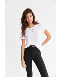 Truly Madly Deeply | White Marnie Tee | Lyst