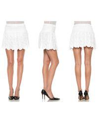 Joe's Jeans - White Ibiza Skirt - Lyst