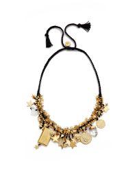Venessa Arizaga | Stargazer Necklace - Midnight Blue | Lyst