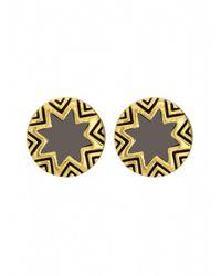 House of Harlow 1960 | Natural Mini Sunburst Stud Earrings | Lyst