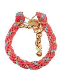Venessa Arizaga - Pink Playa Bracelet - Lyst
