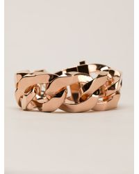Givenchy - Metallic Chain Link Bracelet - Lyst