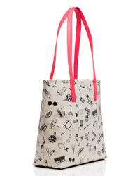 kate spade new york - Multicolor Things We Love Tote - Lyst