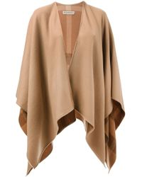 Burberry - Natural Oversized Shawl - Lyst