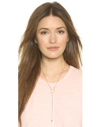 Vanessa Mooney | Metallic The Colt Necklace - Gold | Lyst