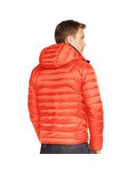 Ralph Lauren | Orange Water-resistant Down Jacket for Men | Lyst