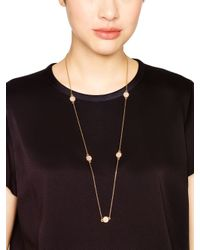 kate spade new york - Metallic Brightspot Scatter Necklace - Lyst