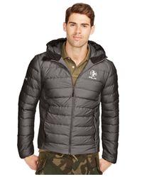 Polo Ralph Lauren | Gray Rlx Explorer Down Jacket for Men | Lyst
