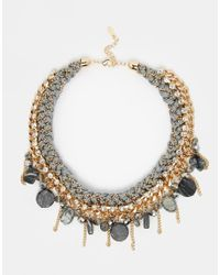 ALDO | Metallic Izzard Collar Necklace | Lyst