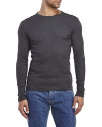 G-Star RAW - Gray Nact Long Sleeve Tee for Men - Lyst
