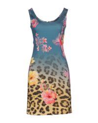 Ean 13 - Multicolor Short Dress - Lyst