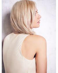 Free People - White Multi Layered Chiffon Dress - Lyst