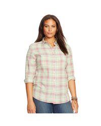 Ralph Lauren - Multicolor Striped Cotton Shirt - Lyst