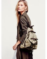 Free People - Brown A.s. 98. Womens Banjo Backpack - Lyst