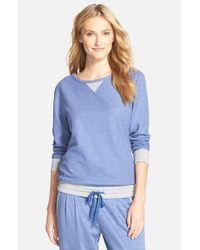 Carole Hochman | Blue Lounge Pullover | Lyst