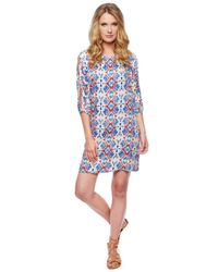 Ella Moss | Multicolor Tierra Shift Dress | Lyst