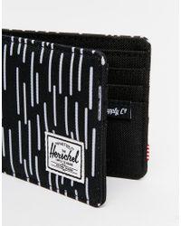 Herschel Supply Co. | Black Roy Billfold Wallet for Men | Lyst