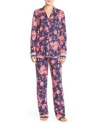 Lucky Brand | Blue Print Pajamas | Lyst