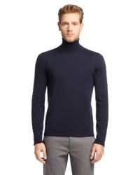 HUGO | Blue Sweater In New Wool: 'sirialano' for Men | Lyst