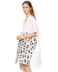 Zero + Maria Cornejo - Zero + Maria Cornejo Elie Dress - White - Lyst